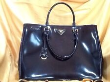 Authentic New Prada Patent Leather Handbag