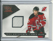 ILYA KOVALCHUK GAME USED JERSEY #/599 2010-11 LUXURY SUITE