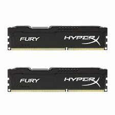 Kingston HyperX FURY 8GB Kit (2x4GB) 1600MHz DDR3 CL10 DIMM - HX316C10FBK2/8 BLK