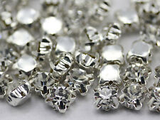 4.75mm SS18 Crystal Sew On Rhinestone Rose Montee Beads 100 PCS