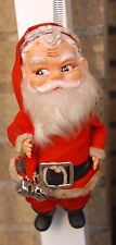 ANTIQUE-VINTAGE  COLLECTIBLE  CHRISTMAS RUBBER  SANTA  FIGURE 8""