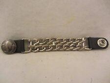 Buffalo Head Dbl Chain Biker Vest Extender 1 pc.  Used  (117EC)