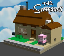 LEGO Simpsons House mini modular custom instructions MOC 71006