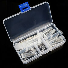 NEW EYEGLASS GLASSES SCREW NUT NOSE PAD OPTICAL REPAIR TOOL ASSORTMENT KIT SET