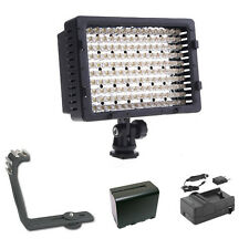 Pro XB-12 LED video light F970 for Canon XF305 XF300 XF105 XF100 XA25 XA20 XA10