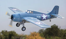 LX 47.2in F4F Wild Cat RC Model Jet Plane Blue KIT EPO W/O Battery & Radio