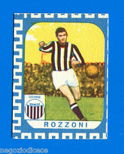 CALCIATORI NANNINA 1961-62 -Figurina-Sticker - ROZZONI - UDINESE -New