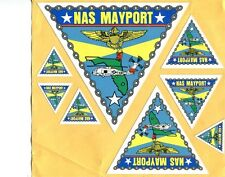 Decal Set NAS Naval Air Station MAYPORT US Navy Base Squadron Patch Image