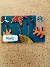 Starbucks Card  'THailand' Fall Leaves 2016