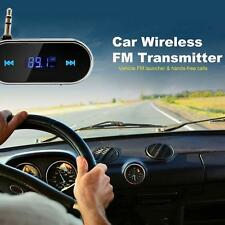 Wireless Music to Car Radio FM Transmitter for 3.5mm MP3 iPod Phones Tablets ~~