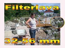 30Kg Filterlava 32 - 56 mm für Teich Bachlauf Regenerationszone Teichfilter