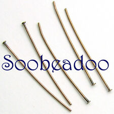 200 Headpins Antique Copper 24g 25mm 1in