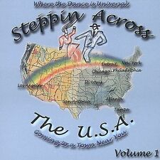 NEW - Steppin Across the U.S.A. Volume 1 by Various Artists