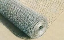 6FT Chicken Rabbit Wire Fencing 1800mm 1 inch hole 50 meter roll  GALVANISED