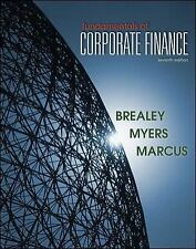 Fundamentals of Corporate Finance Stewart C. Myers, Richard A. Brealey US 7TH ED