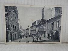 Vecchia cartolina foto d epoca di CROTONE CORSO VITTORIO EMANUELE PALAZZO