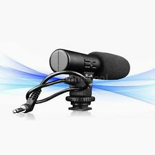 SIDANDE HotShoe Stereo Record Microphone Mic Shotgun Digtal Video Camcorder ID35