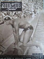NATATION JANY AUX TOURELLES CYCLISME TOUR DE L'OUEST N° 67 MIROIR SPRINT 1947