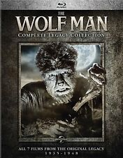 WOLF MAN : COMPLETE LEGACY COLLECTION - BLU RAY - Sealed Region free
