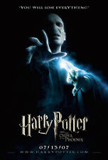 HARRY POTTER ORDER OF PHOENIX MOVIE POSTER 2 Sided ORIGINAL Advance VF 27x40