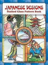 Japanese Designs Stained Glass Pattern Book Dover Stained Glass Instruction