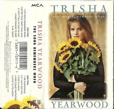 The Song Remembers by Trisha Yearwood (Cassette, Oct-1993, MCA Nashville) USED