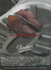 Paraboot Depuis 1919 Shoes/Boots 1997 Magazine Advert #2515