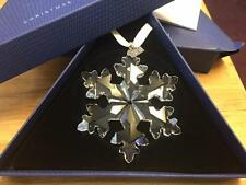 Fabulous  Swarovski 2016 hanging Christmas decoration snowflake Boxed