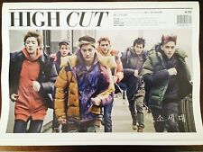 KPOP EXO-K High Cut Magazine Volume 111 October 2013 Issue
