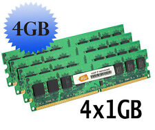 4GB 4X 1GB RAM for the Dell OPTIPLEX GX280 GX620 RAM MEMORY