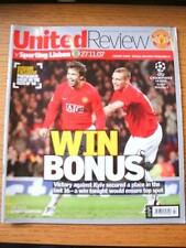 27/11/2007 Manchester United v Sporting Lisbon [European Cup] . No obvious fault