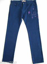 "$695 Authentic JOHN GALLIANO Cotton Skinny Jeans 38""-W 36""-L ITALY"