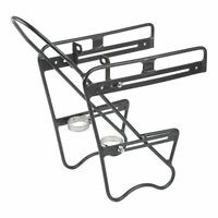ZEFAL Aluminum Raider front rack for saddle bags