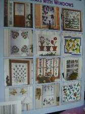 New Ways With Windows Craft Book -25 Designs To Fit ANY Window, Plaid