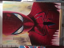 SPIDERMAN MARVEL COMICS SUPERHERO ORIGINAL UNIQUE HAND PAINTED ARTWORK
