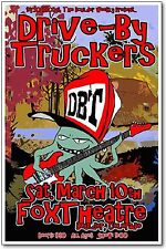 Drive By Truckers Poster NEW 2012 Original Rock Band Concert Handbill 11x17