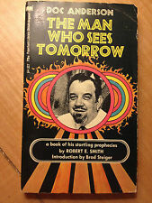 The Man Who Sees Tomorrow by Doc Anderson (paperback) store#2923