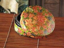 Vintage Asian Lacquered Vanity Box… Hand Made in Kashmir...
