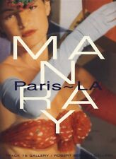 Man Ray: Paris~LA [Hardcover] OOP 1996 - Paintings, Photography, Sculpture