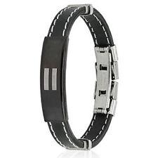 Pride Shack - Steel Rubber Accent Wristlet EQUALITY - Lesbian Gay Pride Bracelet