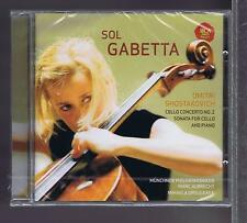 SHOSTAKOVICH CD NEW CELLO CONCERTO No 2 / SOL GABETTA