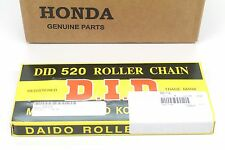 New D.I.D. Rear Drive Chain 520-114 04-07 CR250R 520 pitch 114 links #J89