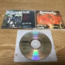 Sepultura - Morbid Visions/Bestial devastation [1CD, US 1st Press] Sarcofago