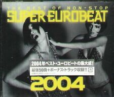 THE BEST OF SUPER EUROBEAT 2004 - Japan 2 CD - NEW MAIO CO SYMBOL KIKI FANCY