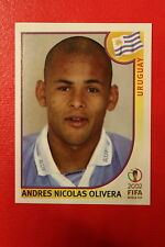 Panini KOREA JAPAN 2002 # 73 URUGUAY OLIVERA NEW With  BLACK BACK TOPMINT!!