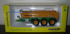 Universal Hobbies 4268 Joskin Trans KTP 27/65 TRM Cargo Trailer (Dealer Box)