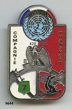 Insigne opex , 41  Rgt. d'Artillerie de Marine & 7  RCC.  / CT. -  420  DSL.