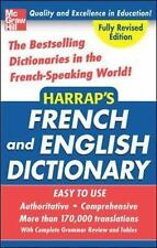 Harrap's French and English College Dictionary-ExLibrary