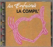 LES ENFOIRES - LA COMPIL DES ENFOIRES - ON IRA TOUS AU PARADIS CD ALBUM 16T 1996