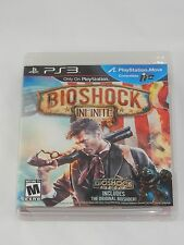 BioShock Infinite (Sony PlayStation 3; PS MOVE; 2013) COMPLETE
